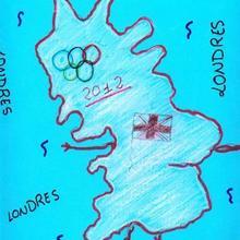 Londres 2012 (Sara Dominguez, 9 años) - Dibujar Dibujos - Dibujos de NIÑOS - Dibujos de DEPORTES - Dibujos de los juegos olimpicos del CEIP Rosalia Castro - O Grove