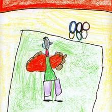 Son olimpicos (Sara Vazquez, 4 años) - Dibujar Dibujos - Dibujos de NIÑOS - Dibujos de DEPORTES - Dibujos de los juegos olimpicos del CEIP Francisco Vales Villamarin - Betanzos