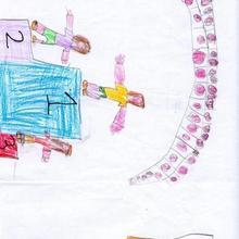 Medalla de oro (Sheila Loureda, 5 años)
