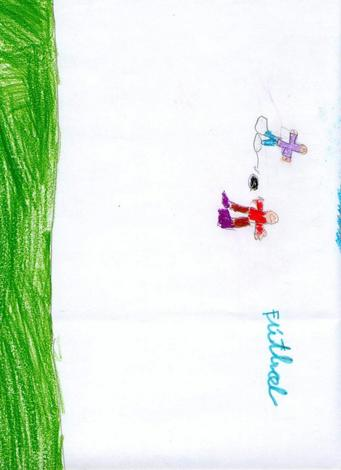 Dibujo de Sheila Vazquez - 5 años