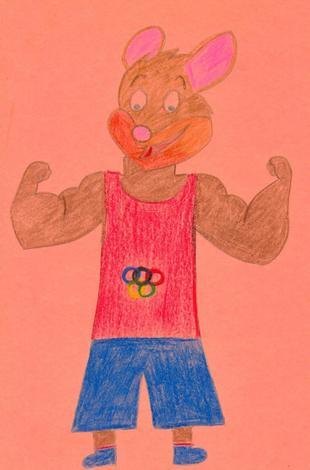 Atleta olimpico ( Teresa Alfonso, 9 años)