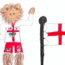Leon ingles 2012 ( Thomas Paco, 9 años) - Dibujar Dibujos - Dibujos de NIÑOS - Dibujos de DEPORTES - Dibujos de los juegos olimpicos del CEIP Rosalia Castro - O Grove