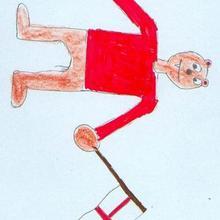 Inglaterra 2012 (Tomas Benavides, 10 años) - Dibujar Dibujos - Dibujos de NIÑOS - Dibujos de DEPORTES - Dibujos de los juegos olimpicos del CEIP Rosalia Castro - O Grove