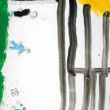 Futbol (Vanesa Loureiro, 9 años) - Dibujar Dibujos - Dibujos de NIÑOS - Dibujos de DEPORTES - Dibujos de los juegos olimpicos del CEIP A Gandara Sofan-Carballo