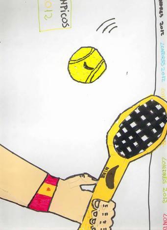 Tenis ( Victor Lopez, 10 años)