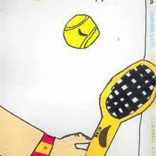 Tenis ( Victor Lopez, 10 años) - Dibujar Dibujos - Dibujos de NIÑOS - Dibujos de DEPORTES - Dibujos de los juegos olimpicos del CEIP Alvaro Cunqueiro - Mondoleño