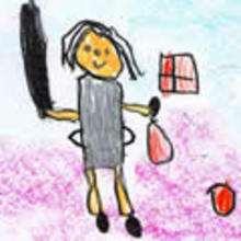 Dibujos de NIÑOS - Dibujar Dibujos