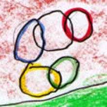 Dibujos de los juegos olimpicos del CEIP Francisco Vales Villamarin - Betanzos