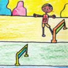 Dibujos de los juegos olimpicos del CEIP A Gandara Sofan-Carballo