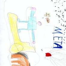 Carrera hipica (Jesus Silva, 6 años)