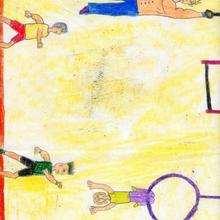 Dibujo de Victor Vilariño - 10 años - Dibujar Dibujos - Dibujos de NIÑOS - Dibujos de DEPORTES - Dibujos de los juegos olimpicos del CPI Pecalama - Tordoia (A Coruña)