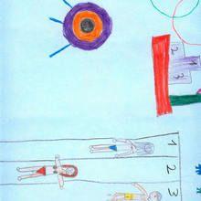 Carrera de natacion (Xiana Rodriguez, 10 años)