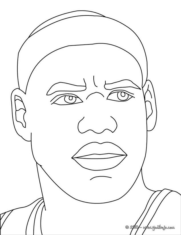 Dibujos para colorear michael jordan - es.hellokids.com