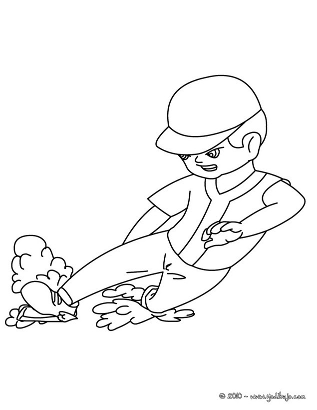 beisbol coloring pages - photo#25