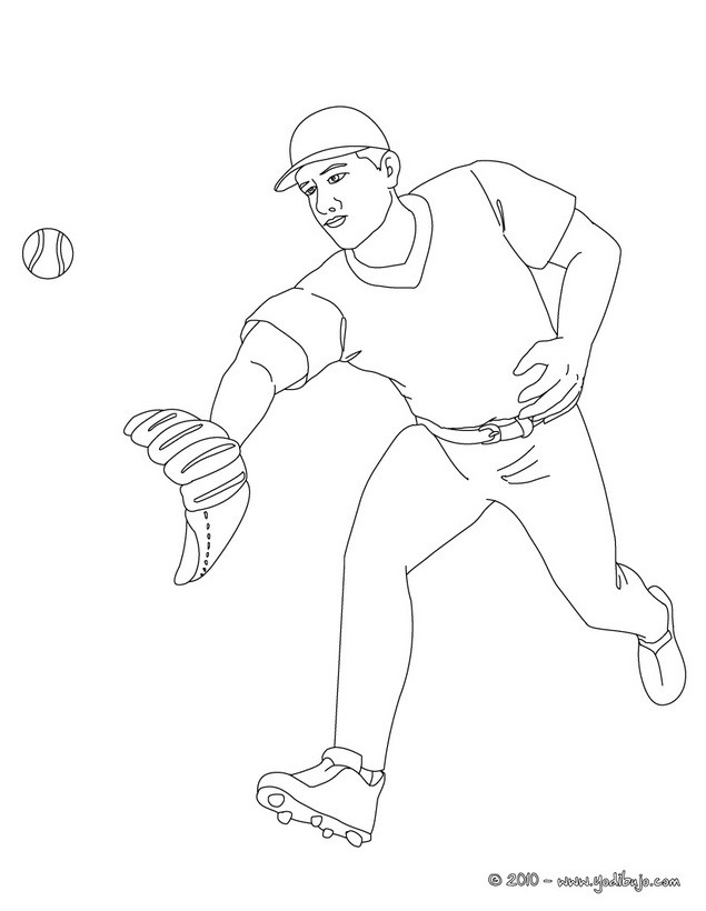 beisbol coloring pages - photo#14