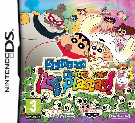 Shin chan contra los plastas - Juegos divertidos - CONSOLAS Y VIDEOJUEGOS