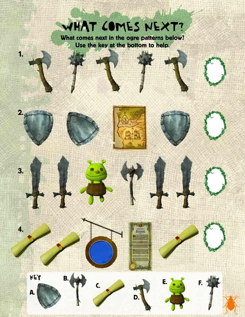 Juego de seguida de Shrek 4