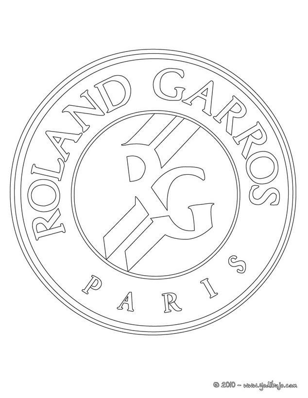 Dibujo para colorear : Roland Garros