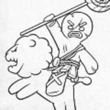 Dibujo para colorear : AMIGOS DE SHREK