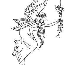 Dibujo para colorear alas de hada - Dibujos para Colorear y Pintar - Dibujos para colorear de FANTASIA - Dibujos para colorear HADAS - Dibujos de ALAS DE HADAS para colorear