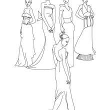 Dibujo de princesas para colorear - Dibujos para Colorear y Pintar - Dibujos de PRINCESAS para colorear - Dibujos para pintar PRINCESAS online