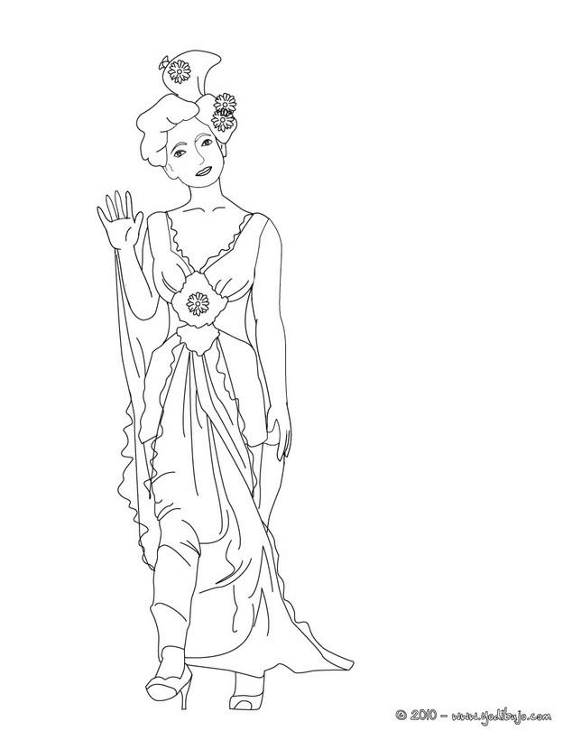 Dibujos para colorear príncipe y princesa - es.hellokids.com