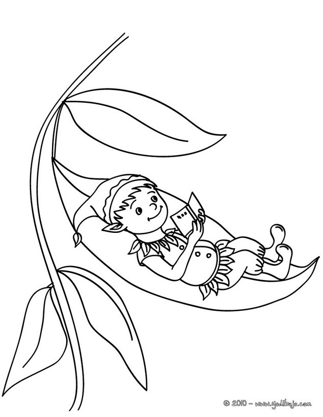 Dibujos de ELFOS para colorear - 28 dibujos de fantasía para ...