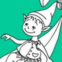 Dibujos de ELFOS para colorear