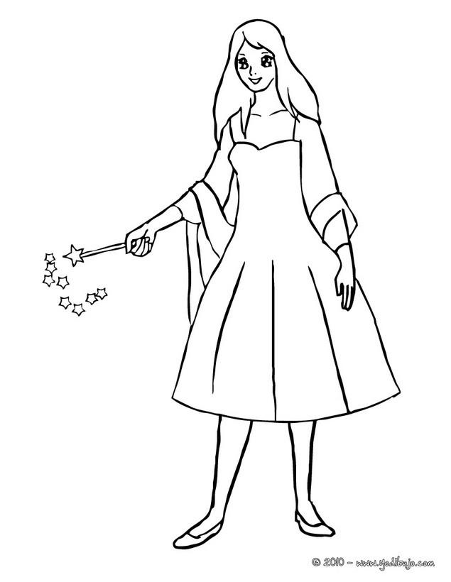 Dibujos para colorear abracadabra con la varita mgica  es
