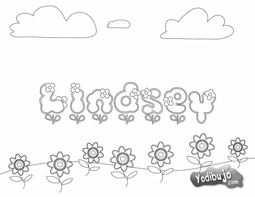 Dibujos para colorear nombres - es.hellokids.com