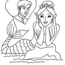 una sirena enamorada