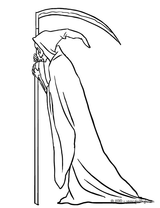 la santa muerte coloring pages - photo #22