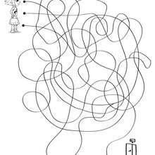 Página para imprimir : BUSCA LA SALIDA laberinto para jugar