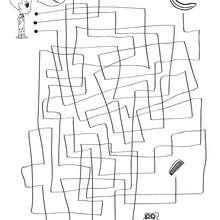 Página para imprimir : BUSCA EL CAMINO laberinto para jugar