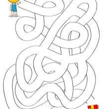 ENCONTRAR MI REGALO laberinto para niños - Juegos divertidos - Juegos de LABERINTOS - Laberintos PARA NIÑOS