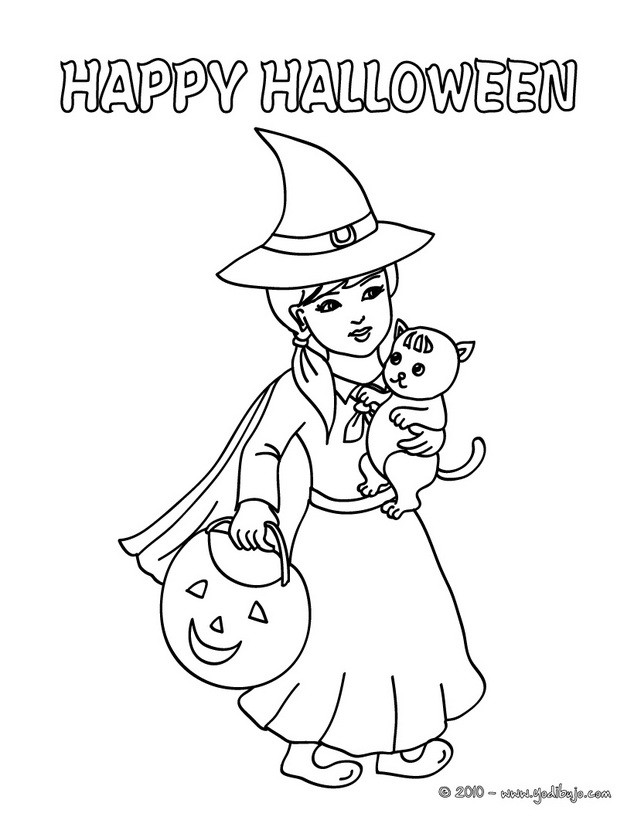 Dibujos para colorear HALLOWEEN - 323 imágenes de Halloween para pintar