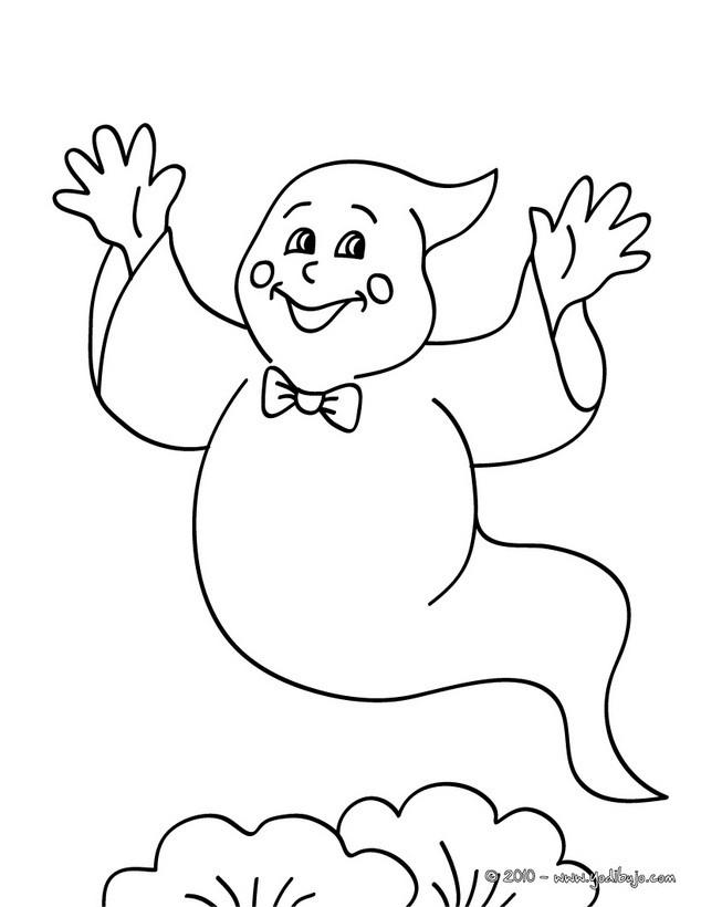 Maestra de Infantil: Fantasmas para colorear. Halloween.