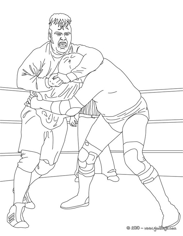 Wwe Lucha Dragons Coloring Pages