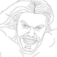 Dibujo para colorear : El Luchador Edge