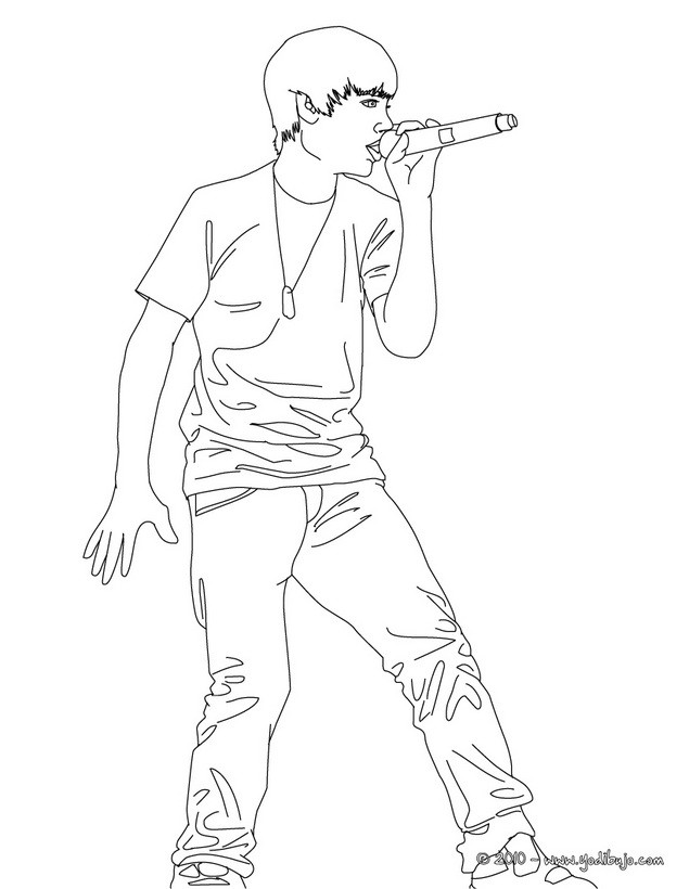 justin bieber black and white coloring pages. justin bieber black and  title=
