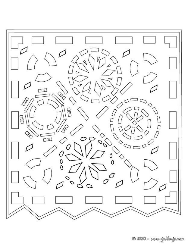 Dibujos para colorear DIA DE MUERTOS - imprimir 16 dibujos para pintar