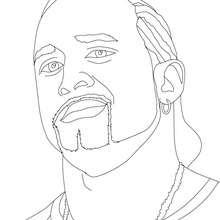 Dibujo para colorear : El Luchador MVP