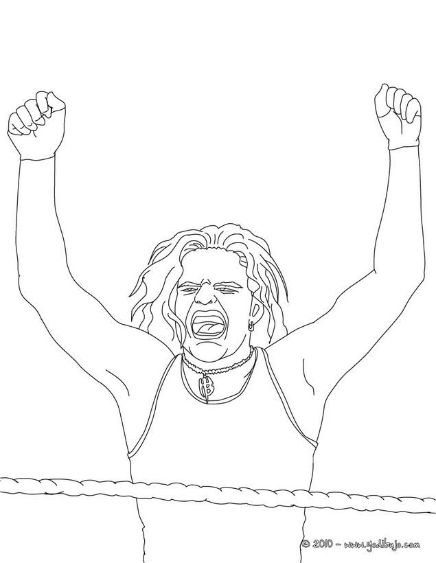 Dibujos de LUCHA LIBRE para colorear - 54 Dibujos para COLOREAR los ...