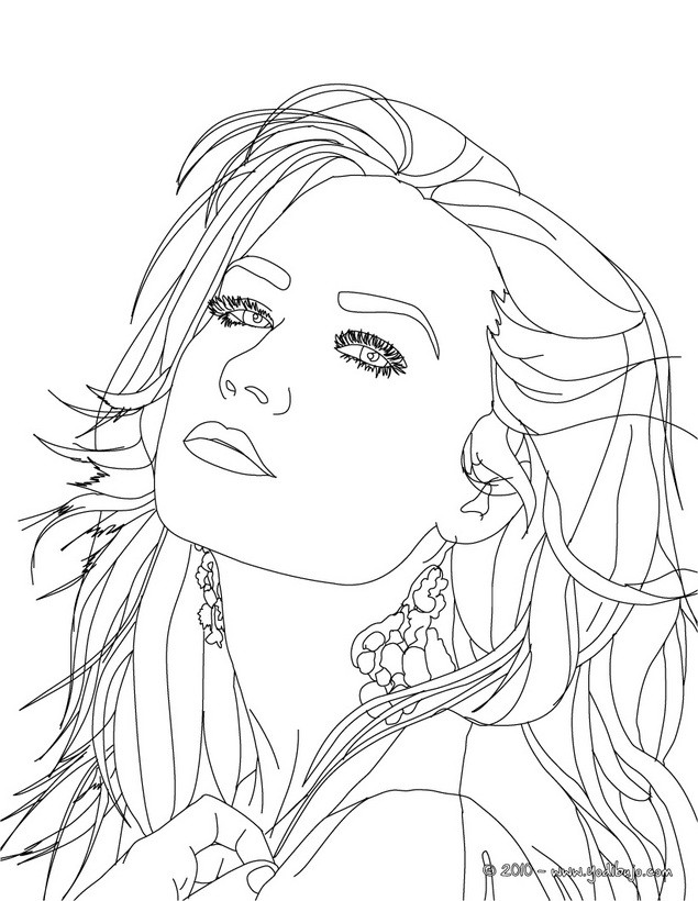 Selena Gomez And Demi Lovato Coloring Pages - Bltidm