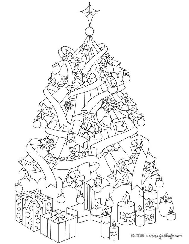 Arbol De Navidad Dibujos Para Colorear Juegos Gratuitos
