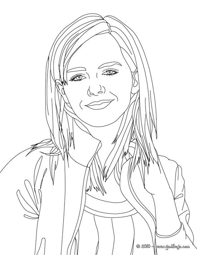 Dibujos De Emma Watson Para Colorear Imprimir Y Pintar 15