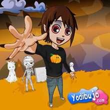 Puzzle halloween fácil Yodibujo - Juegos divertidos - JUEGOS DE PUZZLES - Puzzles online de YODIBUJO