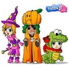 Rompecabezas disfraces halloween - Juegos divertidos - ROMPECABEZAS INFANTILES - Rompecabezas HALLOWEEN