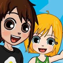 Puzzle Mat y Ana difícil Yodibujo - Juegos divertidos - JUEGOS DE PUZZLES - Puzzles online de YODIBUJO