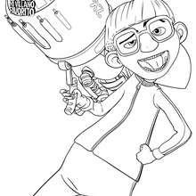 Dibujo para colorear VECTOR - Dibujos para Colorear y Pintar - Dibujos de PELICULAS colorear - Dibujos para colorear GRU MI VILLANO FAVORITO